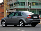 Ford Focus Sedan ZA-spec 2010–11 wallpapers