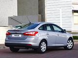Ford Focus Sedan ZA-spec 2011 pictures