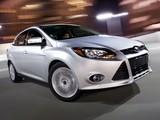 Ford Focus Sedan US-spec 2011 wallpapers