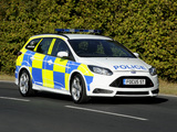 Ford Focus ST Wagon Police 2012 images
