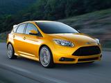 Ford Focus ST US-spec 2012 images