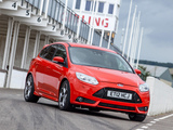 Ford Focus ST UK-spec 2012 photos