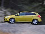 Ford Focus 5-door EcoBoost 2012 photos