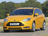 Ford Focus ST Wagon UK-spec 2012 pictures