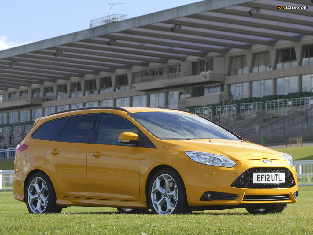 Ford Focus ST Wagon UK-spec 2012 pictures (1024 x 768)