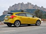 Ford Focus 5-door EcoBoost 2012 wallpapers