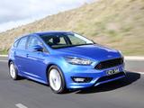 Ford Focus S AU-spec 2015 images
