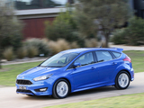 Ford Focus S AU-spec 2015 pictures