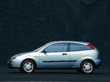Images of Ford Focus 3-door 1998–2001