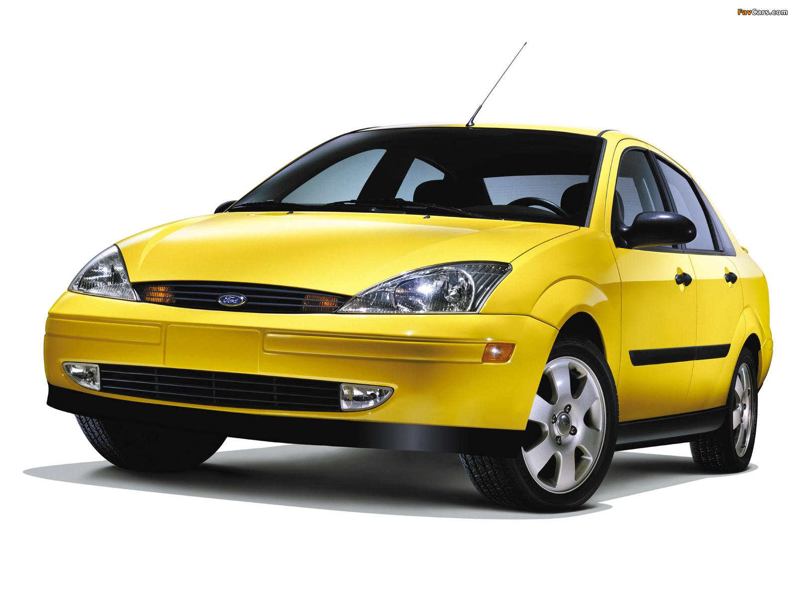 Images of Ford Focus Sedan Street Edition 2001 (1600 x 1200)
