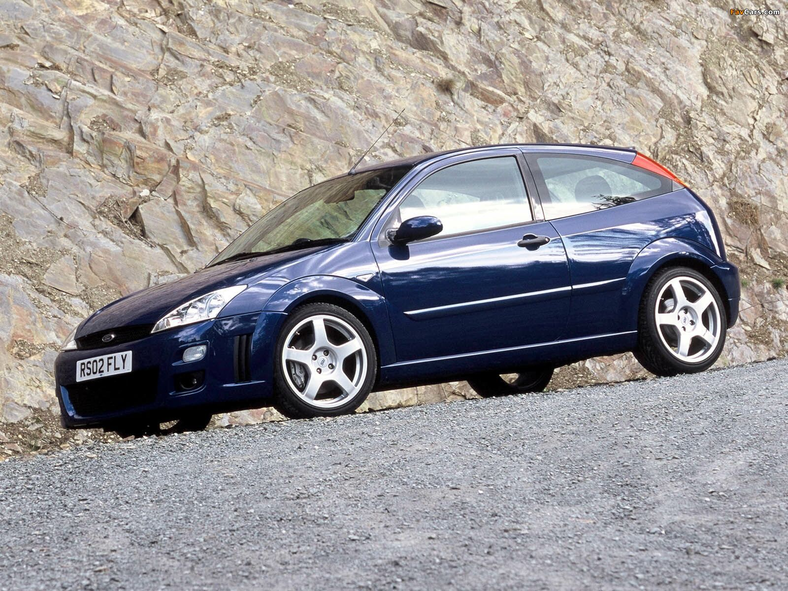 Images of Ford Focus RS 2002–03 (1600 x 1200)