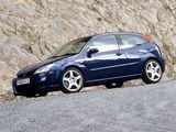 Images of Ford Focus RS 2002–03