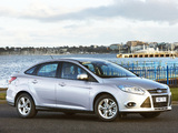 Images of Ford Focus Sedan AU-spec 2011