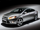 Images of Ford Focus Sedan US-spec 2011