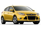 Images of Ford Focus 5-door US-spec 2011