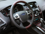Images of Ford Focus Sedan US-spec 2011