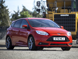 Images of Ford Focus ST UK-spec 2012