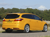 Images of Ford Focus ST Wagon UK-spec 2012
