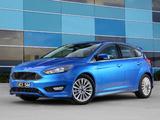 Images of Ford Focus S AU-spec 2015