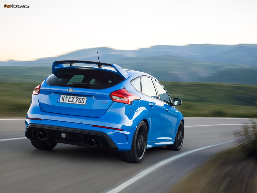 Images of Ford Focus RS (DYB) 2015 (1024 x 768)