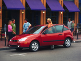 Photos of Ford Focus ZX3 1999–2004