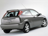 Photos of Ford Focus ZX3 S2 2001–02