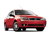 Photos of Ford Focus ZX4 2005–07