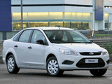 Photos of Ford Focus Sedan ZA-spec 2009–10