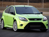 Photos of Ford Focus RS ZA-spec 2010