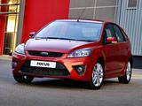 Photos of Ford Focus 5-door ZA-spec 2010–11