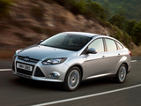 Photos of Ford Focus Sedan 2010