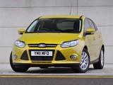Photos of Ford Focus 5-door UK-spec 2010
