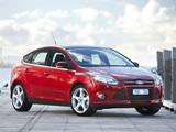 Photos of Ford Focus 5-door AU-spec 2011