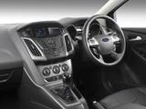 Photos of Ford Focus 5-door ZA-spec 2011