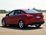 Photos of Ford Focus Sedan US-spec 2011