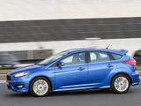 Photos of Ford Focus S AU-spec 2015