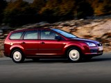 Pictures of Ford Focus Turnier 2005–07