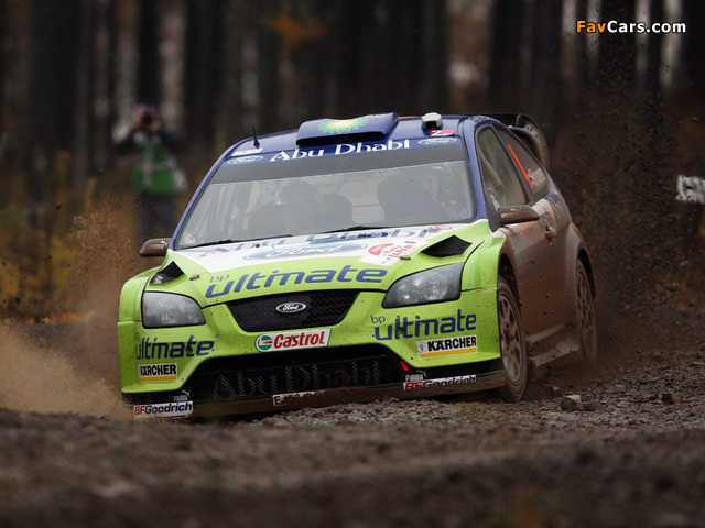 Pictures of Ford Focus RS WRC 2005–07 (640 x 480)