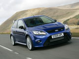 Pictures of Ford Focus RS UK-spec 2009–10