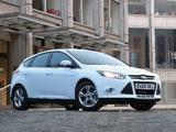 Pictures of Ford Focus 5-door UK-spec 2010