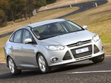 Pictures of Ford Focus Sedan AU-spec 2011