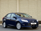 Pictures of Ford Focus Sedan ZA-spec 2011