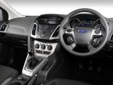 Pictures of Ford Focus 5-door ZA-spec 2011