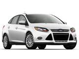 Pictures of Ford Focus Sedan US-spec 2011