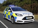 Pictures of Ford Focus ST Wagon Police 2012
