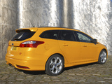 Pictures of Ford Focus ST Wagon UK-spec 2012