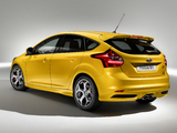 Pictures of Ford Focus ST (DYB) 2012–14
