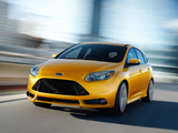 Pictures of Ford Focus ST US-spec 2012