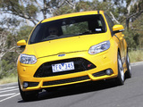 Pictures of Ford Focus ST AU-spec 2012