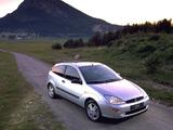 Ford Focus 3-door 1998–2001 wallpapers